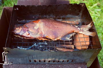 Smoked fish bream