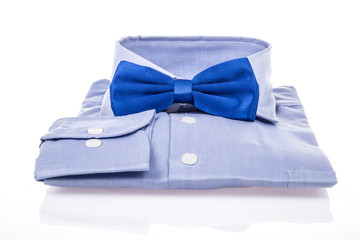 bow tie and shirt