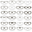 24 highly detailed glasses icons - 69273156