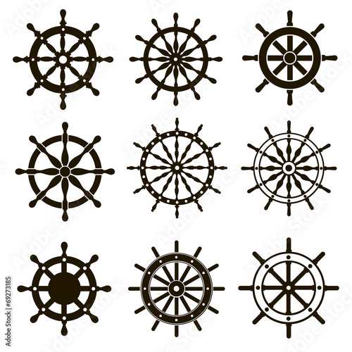 9 images of ship steering wheels - 69273185
