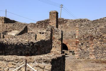 Pompeji - Ruine einer alten Bäckerei