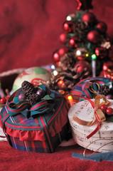 boîtes cadeaux décoration de Noël