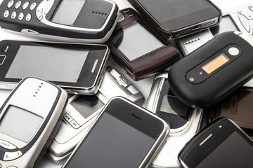 fondo telefoni vecchi