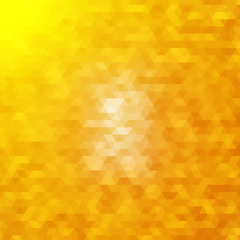 Abstract geometric background of triangular polygons. for your