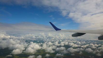 Aerial cloudscape
