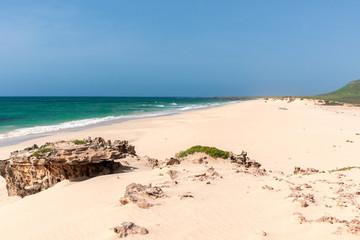 Am Praia da Varandinha, Boavista, Kapverden