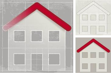 House, sketch