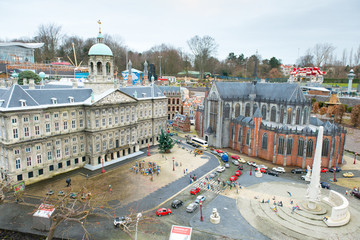 Madurodam - Miniature city, in the The Hague, Netherlands