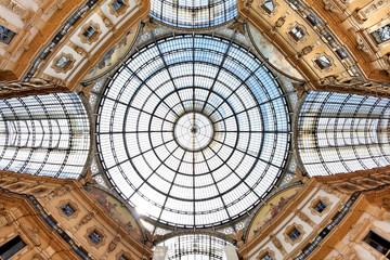 Kuppel der Galleria Vittorio Emanuele II in Mailand