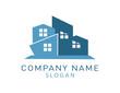 Abstract real estate logo