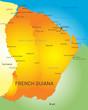 Постер, плакат: French Guiana