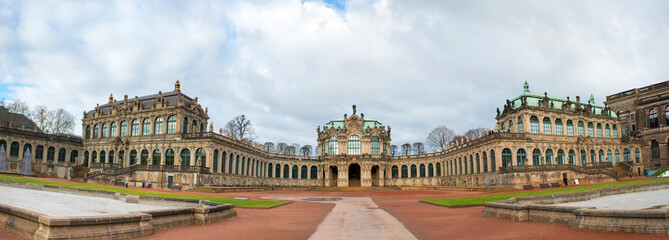 The Zwinger is a palace built in Rococo style. Dresden, Germany