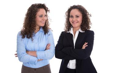Zwillinge: Businessfrauen im Team - zwei Schwestern