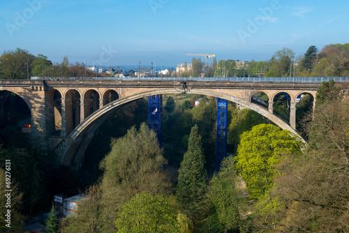 Pont Adolphe Bridge in Luxembourg City - 69276131