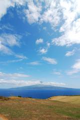 View of pico island