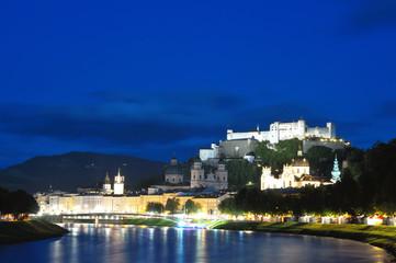Evening Salzburg, Austria