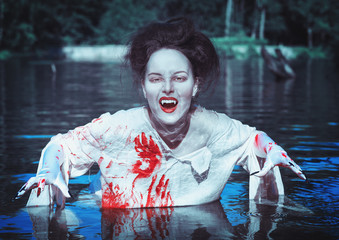 Vampire in the river