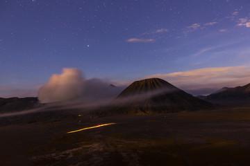 Bromo at night