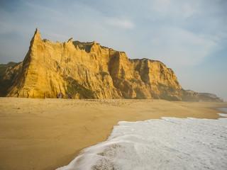 Beach at Valle Furado, Portugal
