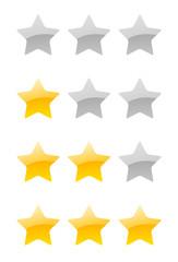 vector rating stars