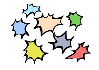 doodle color splash