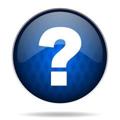 question answer internet icon