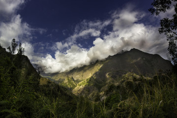 Route vers Cilaos - Ile de la Réunion
