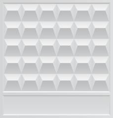 Gray Concrete Fence