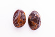 Dates on white background.