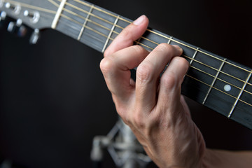 G major Chord Fingering On Guitar