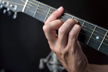 G major Chord Fingering On Guitar