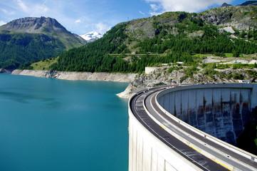 barrage de tignes-savoie