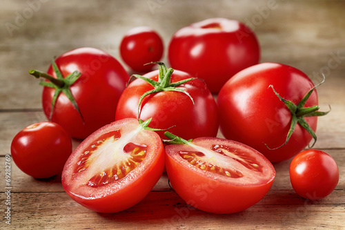 Foto op Canvas Groenten Fresh red tomatoes