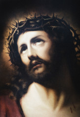 Jesus portrait reproduction