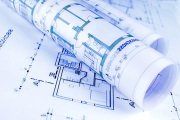Skizzen Rollen Blueprint Architektur