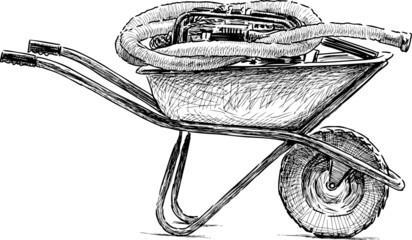 Sketch Wheelbarrow