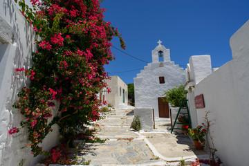 ruelle de chora à Amorgos