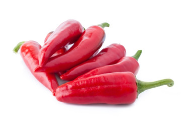 Heap of Hot Red Peppers