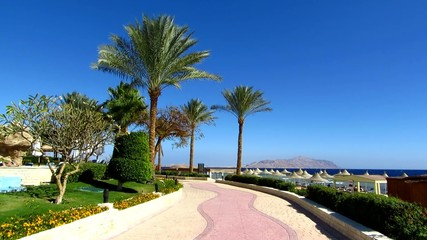 Embankment in Sharm El Sheikh