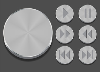 Vector Illustration of Application Sound Icon