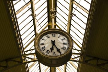 Old Railway station clock