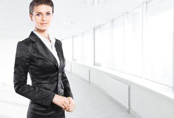 Portrait of a young confident business woman