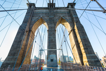 Brooklyn Bridge in New York