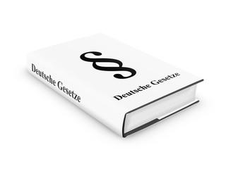 Deutsche Gesetze Buch White