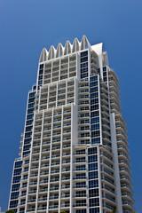 South Beach luxury condominium building in Miami, Florida