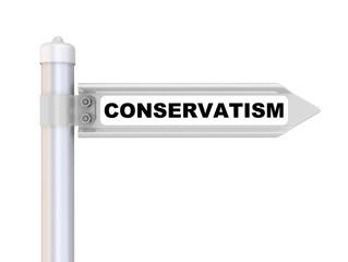 Консерватизм (conservatism). Дорожный указатель