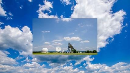 Wolken und Technik