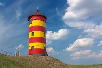 Pilsumer Leuchtturm bei Greetsiel in Ostfriesland