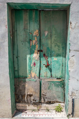 European old doors that have survived the test of time.