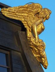 Decoration rostrum sculpture